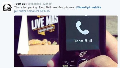 Taco Bell Phone